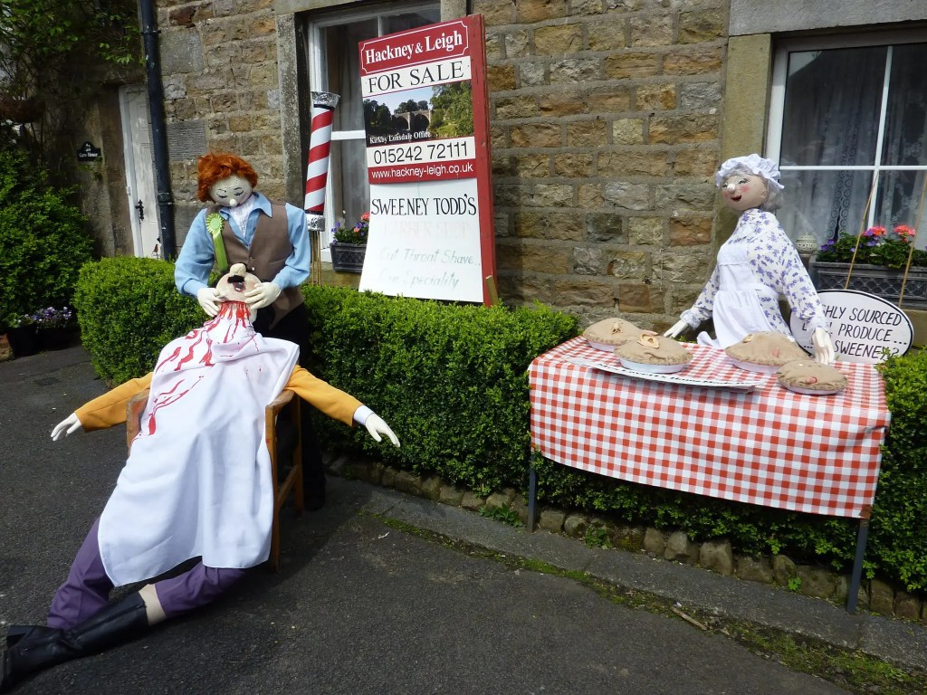 Sweeny Todd Wray Scarecrow Festival