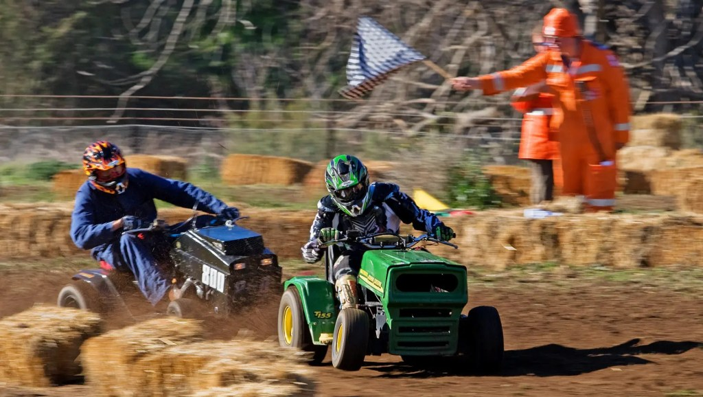 Red Bull Cut It Lawn Mower Racing Somerset 2018