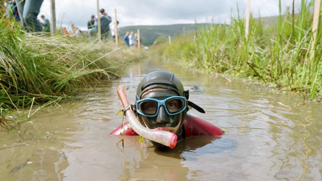 Bog Snorkelling Championships 2018 in Wales