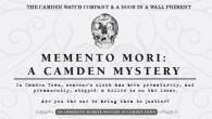 Memento Mori A Camden Murder Mystery - the Camden Watch Co