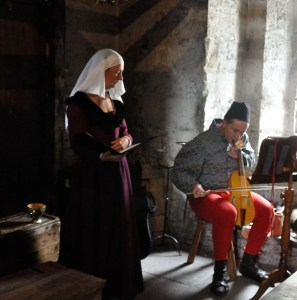 Medieval Music in the Dales - Bolton Castle