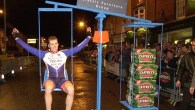 A night-time cycle race with a twist