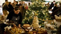 Artisan food and drink at Pear Tree Cafe's Christmas Market