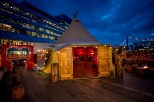 Secret SunSET rooftop silent dance class - Queen of Hoxton, London