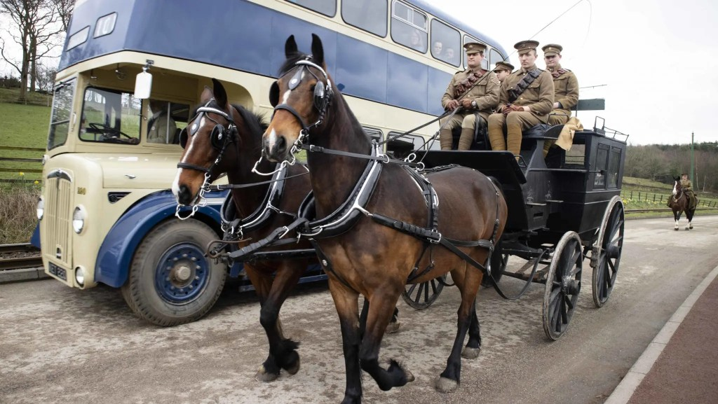 Horses at Work 2019 at Beamish Museum