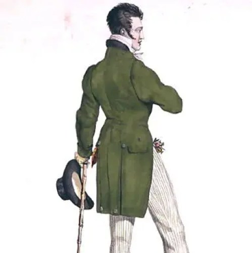 A Dandy by Georges Jacques Gatine (1773-1831)