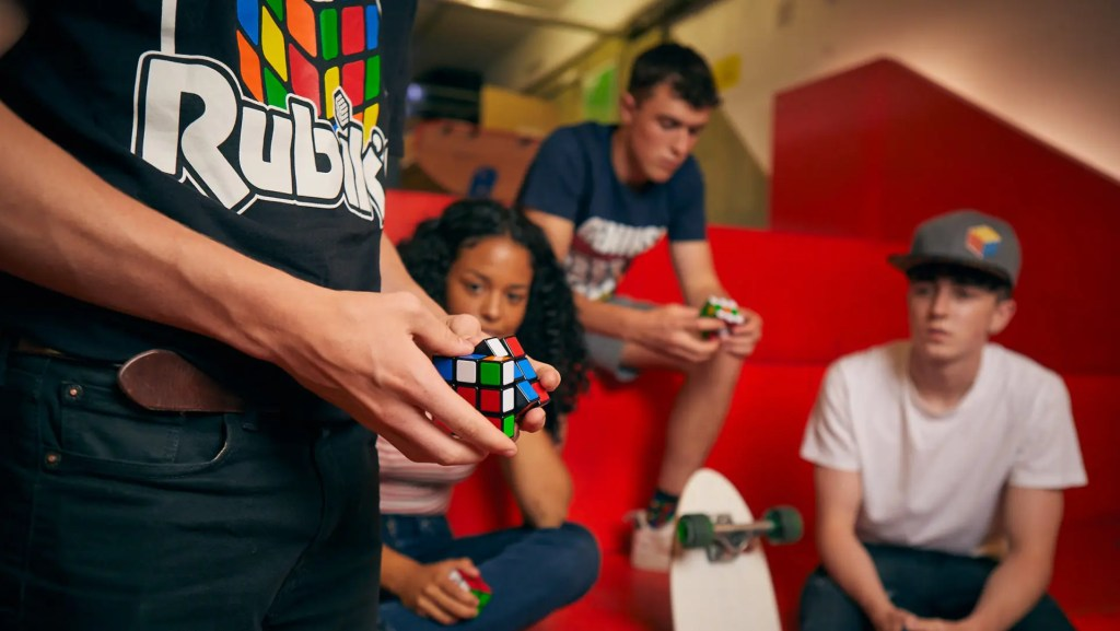 Rubik's pop up experience in London