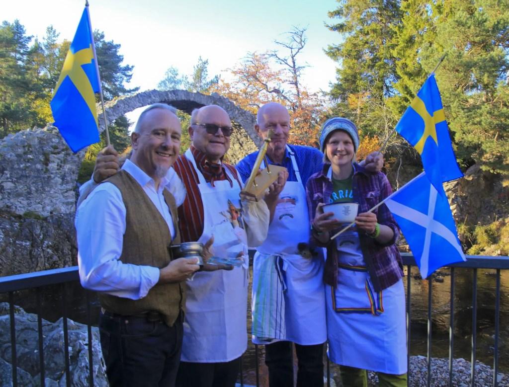 Golden Spurtle World Porridge Making Championships James Ross
