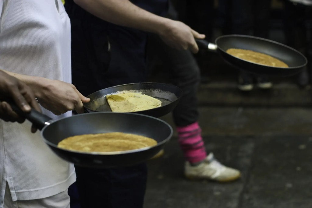 Pancake Race by Pedro Figueiredo / CC BY-SA