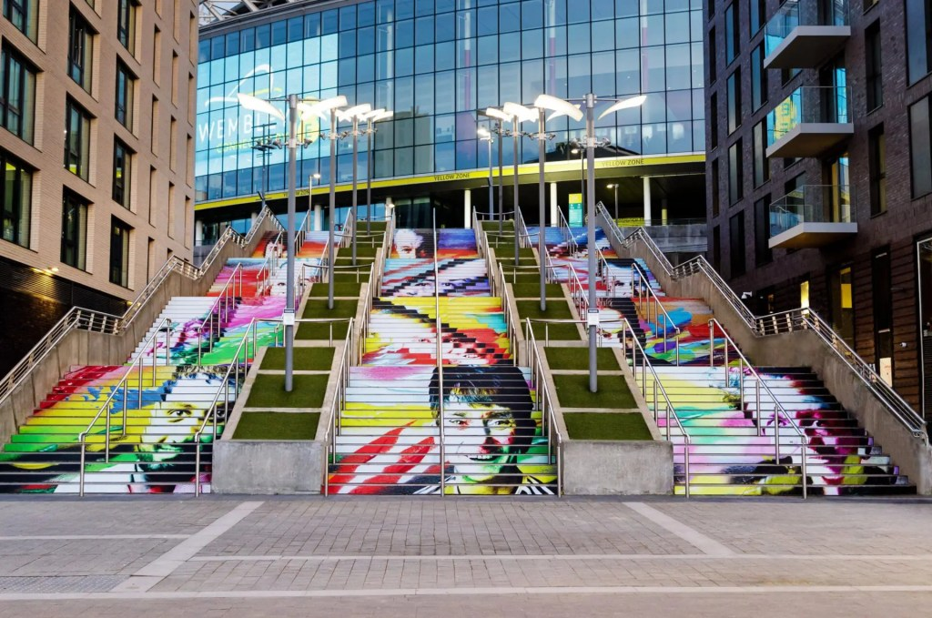 Wembley Park - Frank Styles - One in Four - © Chris Winter