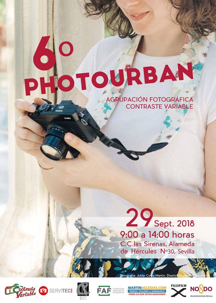 Cartel del PhotoUrban de 2018