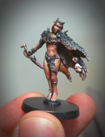 Blood Rage Board game Witch