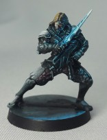 iNFINITY_Cyber Ninja_Tabletop Style_Painted by Matt DiPietro_C_Contrast Miniatures