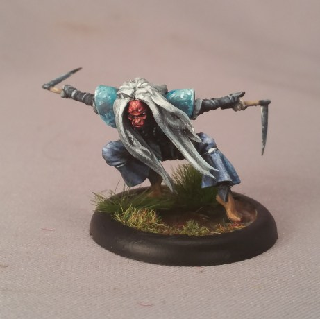 Painted by Matt DiPietro Contrast Miniatures Sketch Style