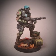 Painted Tabletop Sketch Style by Matt DiPietro Contrast Miniatures