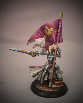 Painted by Matt DiPietro Contrast Miniatures at Display Quality