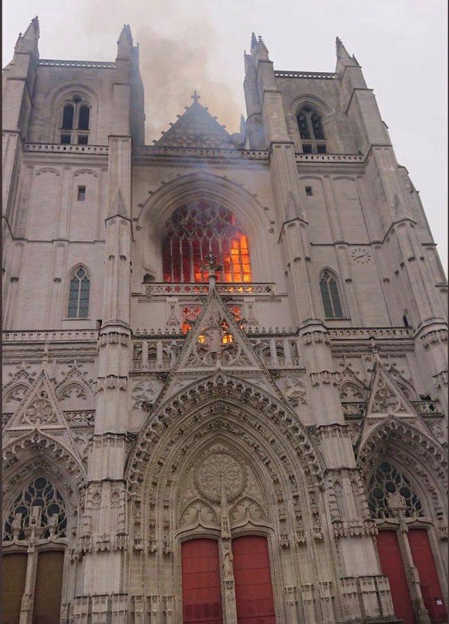 News au 22 juillet 2020 Incendie-nantes