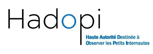 Logo HADOPI : haute autorité destinée à observer les petits internautes