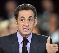 Sarkozy grimace