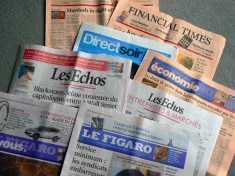 Journaux (Crédits Ol.v!er [H2vPk], licence Creative Commons)