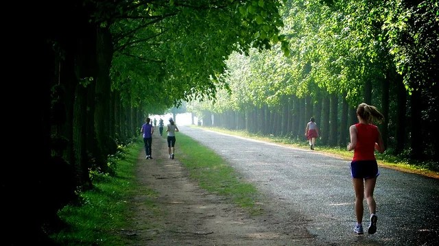 Running à Versailles (Crédits Living Fitness UK licence Creative Commons)