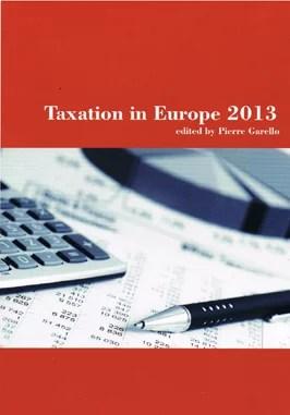 garello_taxation in europe_2013