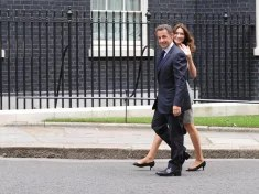 Nicolas Sarkozy et Carla Bruni (Crédits : 10 Downing Street, licence Creative Commons)