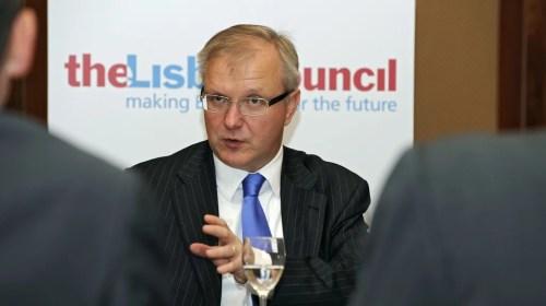 Olli Rehn, commissaire européen chargé des Affaires économiques.