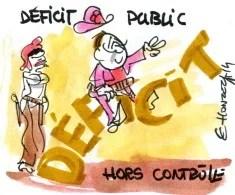 Déficit public (Crédits : René Le Honzec/Contrepoints.org, licence Creative Commons)