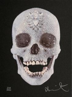Damien Hirst Original screenprint with Diamond Dust,