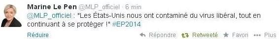 Marine Le Pen Twitter