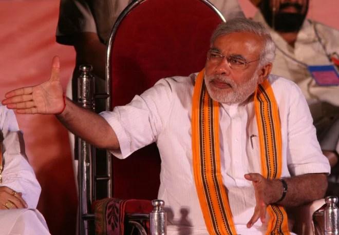 Narendra Modi (Crédits Al Jazeera English, licence Creative Commons)