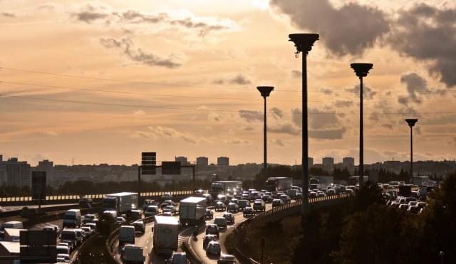Trafic circulation Paris