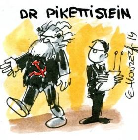Piketty Marx (Crédits : René Le Honzec/Contrepoints.org, licence Creative Commons)