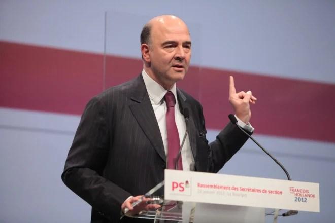 Pierre Moscovici en 2012 2 (Crédits Mathieu Delmestre-Parti socialiste, licence Creative Commons)