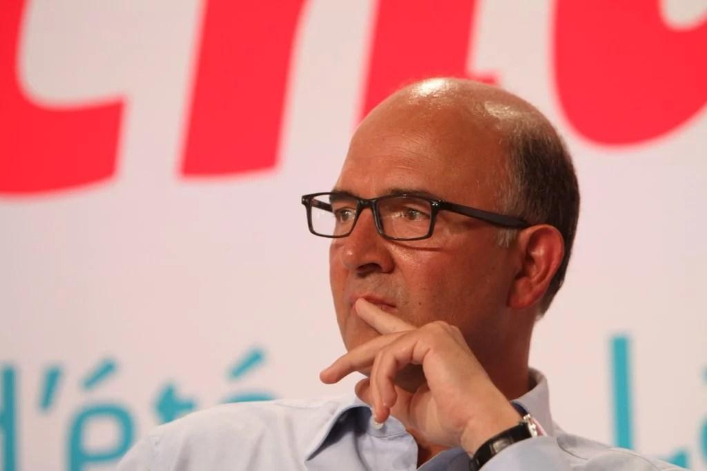 Pierre Moscovici en 2012 (Crédits Mathieu Delmestre-Parti socialiste, licence Creative Commons)