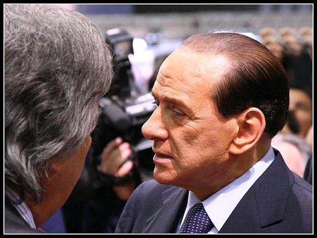 Silvio Berlusconi (Crédits Samuele Silva, licence Creative Commons)