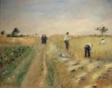 Les moissonneurs, 1873