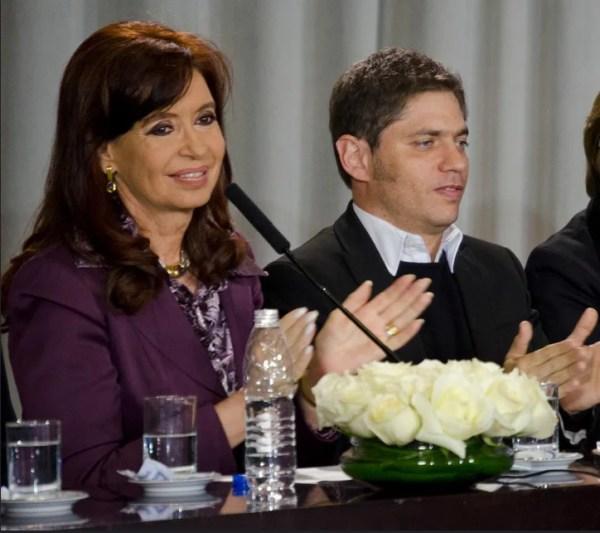 Cristina Fernández de Kirchner et Axel Kicillof
