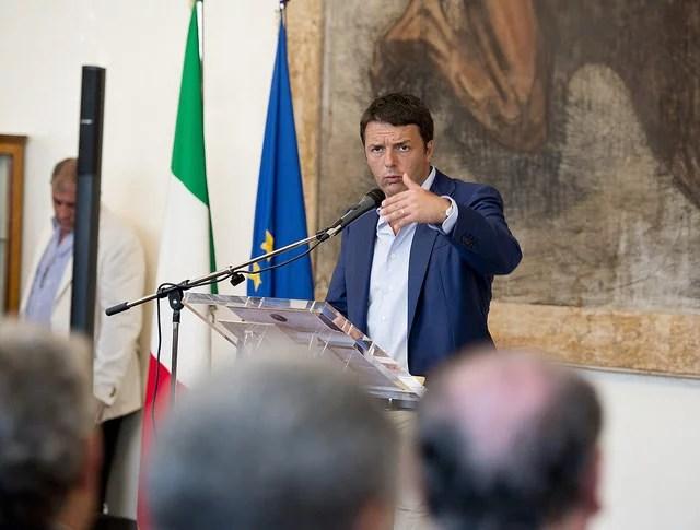 Matteo Renzi (Crédits Palazzo Chigi, licence Creative Commons)