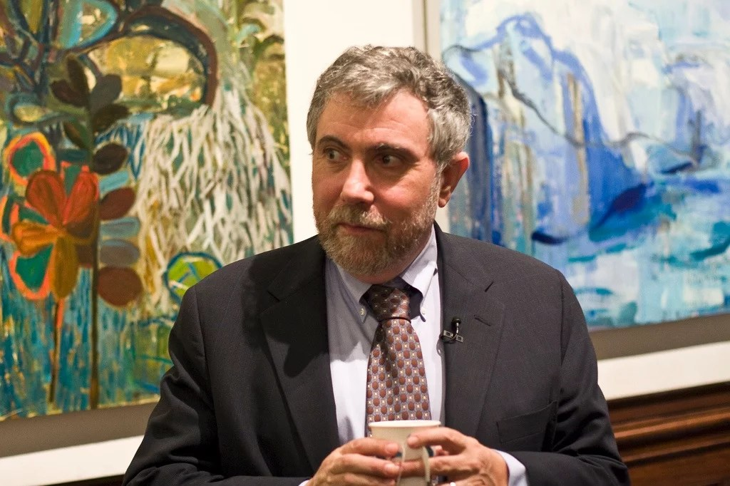 Paul Krugman CC Rachem Maddow