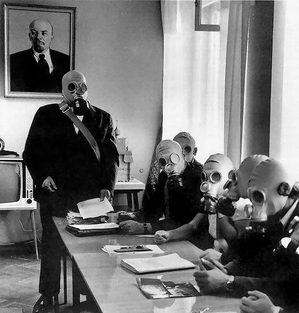 masque totalitarisme Urss credits John Vaughan (licence creative commons)