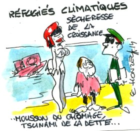 réfugiés climatiques rené le honzec