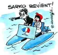 retour sarkozy Le Honzec