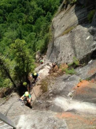 grimpeurs licence CC Crédits  Tourisme Saguenay-Lac-Saint-Jean
