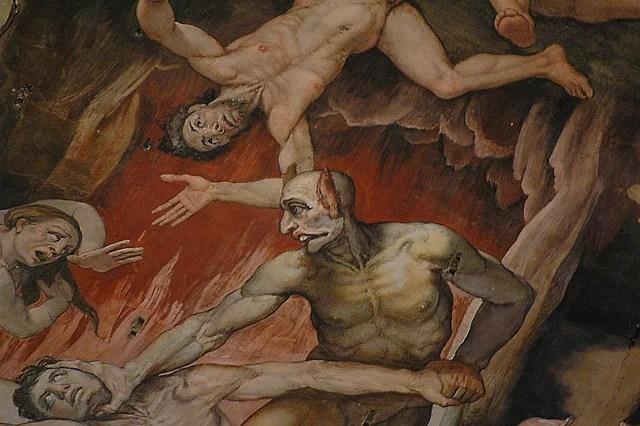 Enfer Dante credits malavoda (licence creative commons)