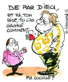 Depardieu Hollande rené le honzec