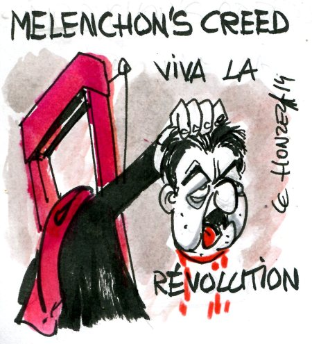 melenchon révolution rené le honzec