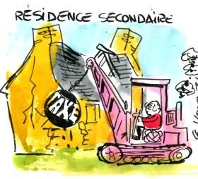 taxe résidence secondaire rené le honzec