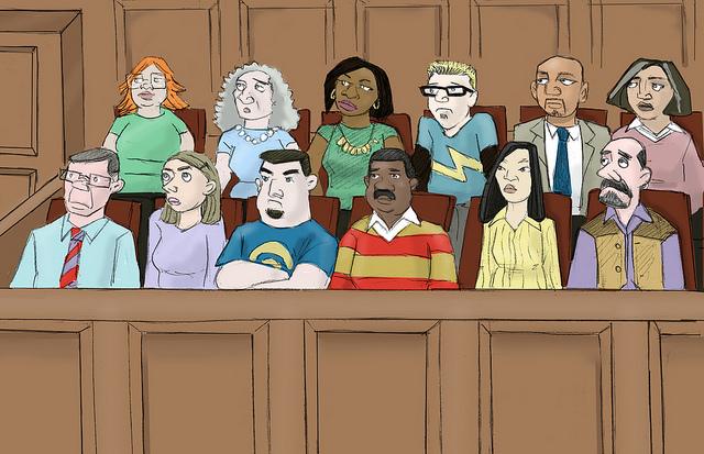Jury credits Cali (licence creative commons)
